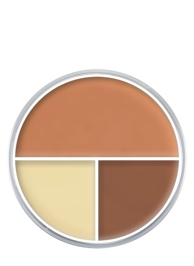 Kryolan Ultra Foundation Trio Kahve